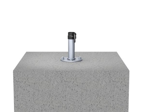 Ankerplatte zum Aufdübeln - Geeignet für Sonnenschirm Filius, Mezzo und Dacapo.