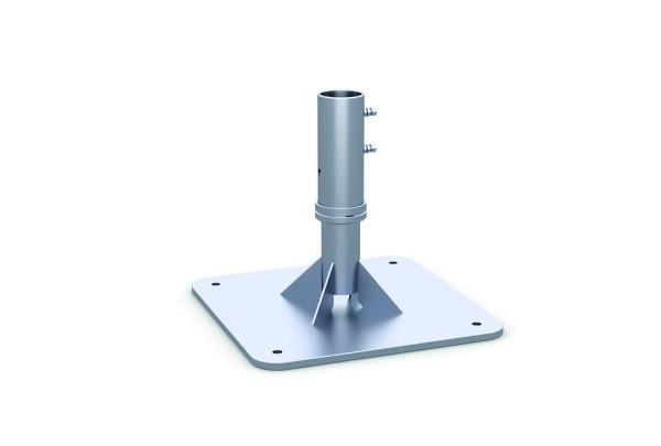 Ankerplatte zum Aufdübeln zweiteilig Oberteil abschraubbar